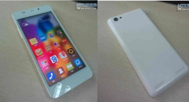 Gionee e6 mini foto rubate