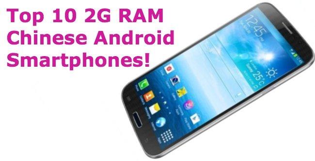 TOP 10 TELEFONES ANDROIDES CHINESES COM 2GB DE RAM