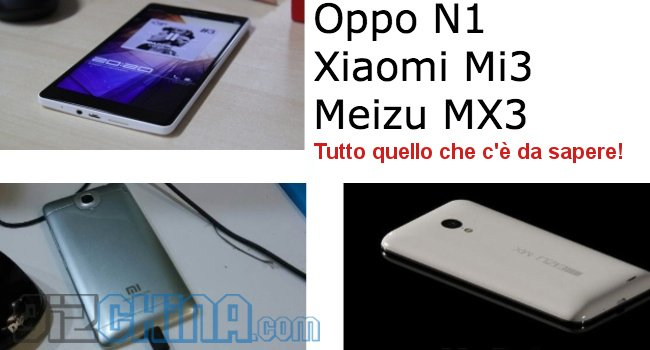 Xiaomi Meizu M3 Oppo N1