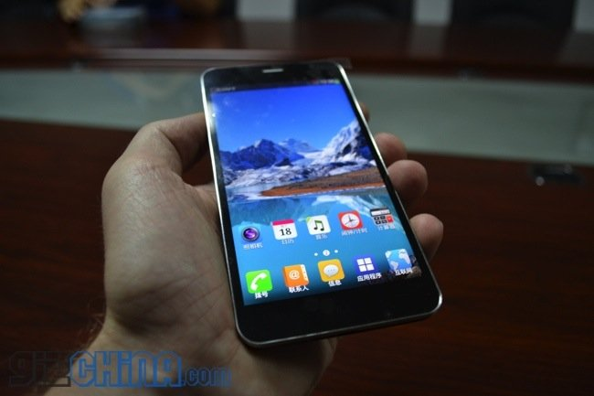 Jiayu s1 hands-on video