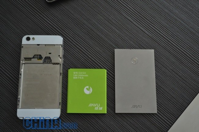 JiaYu G5 acero inoxidable