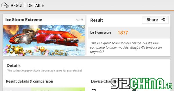 iOcean X7 Elite review - 3d mark benchmark