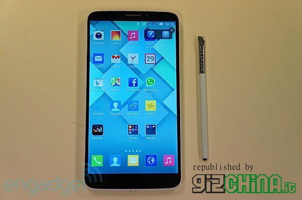 Alcatel One Touch Hero phablet