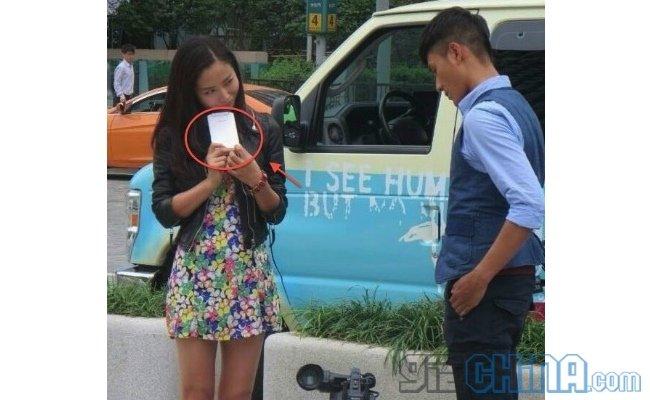 Oppo N1 avvistato durante le riprese di una pubblicità in Corea