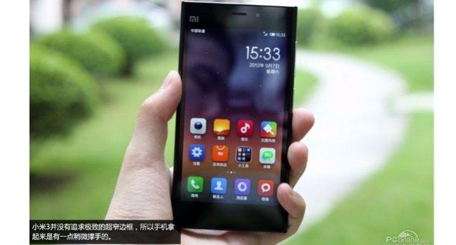 Xiaomi Mi3 unboxing fotos