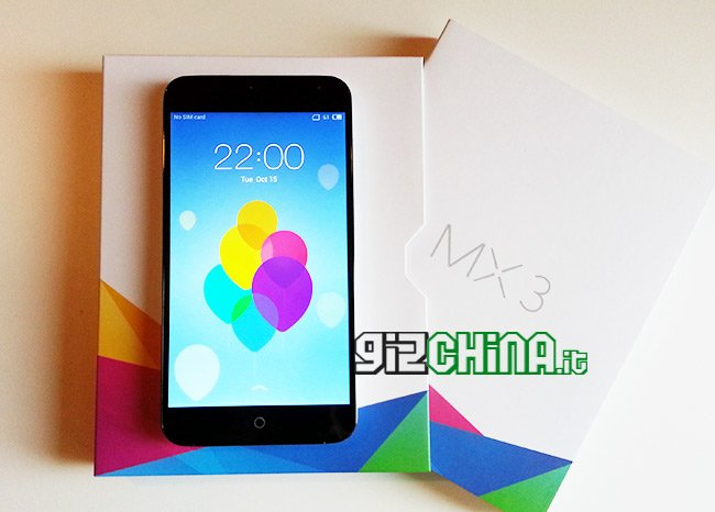 Meizu MX3 exklusive GizChina.it