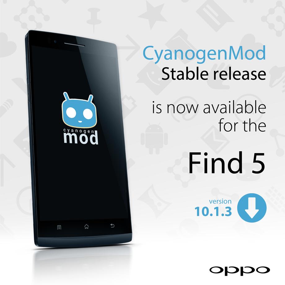 cyanogenmod disponível para o 5 encontrar opo