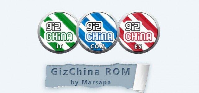 GizRom made in GizChina moddate da marsapa