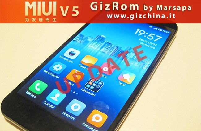 GizRom MIUI V5 ZP980 / C2 / C3