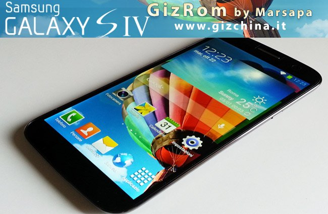 GizChina.it Rom - GizRom Touchwiz S4