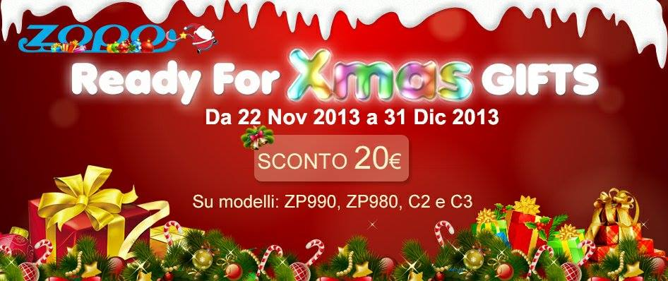 Zopo Christmas offer