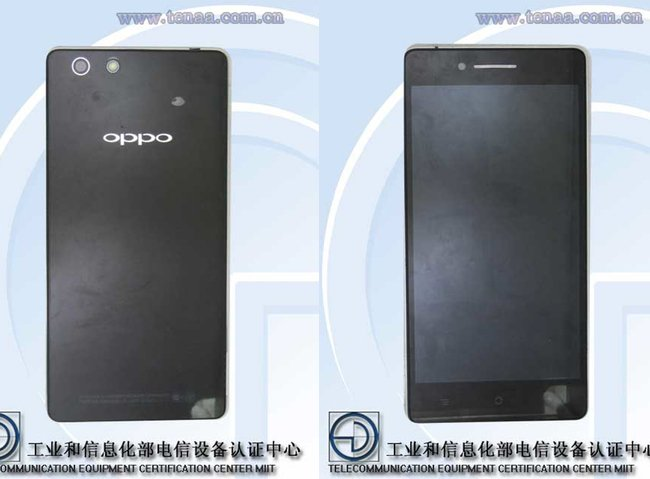 O Oppo R829T recebe a licença de rede com o Gorilla Glass, mas com especificações mais baixas do que o esperado