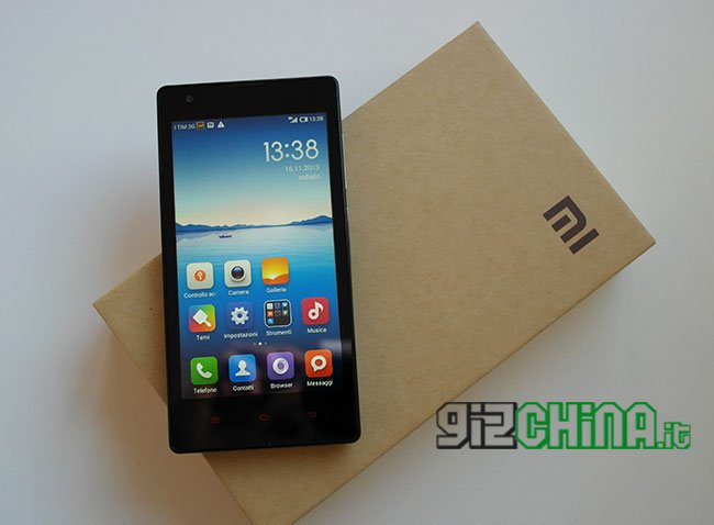 Xiaomi Hongmi UMTS unboxing por GizChina.it