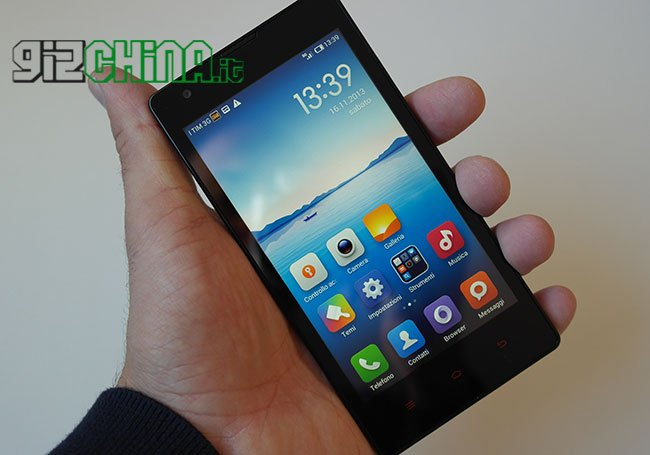 Xiaomi Hongmi UMTS unboxing by GizChina.it
