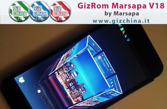 Nuova GizRom per Zopo ZP980/C2 e C3 - Marsapa V18