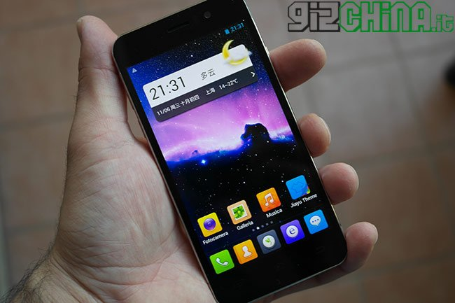 JIAYU G5 unboxing GizChina.it