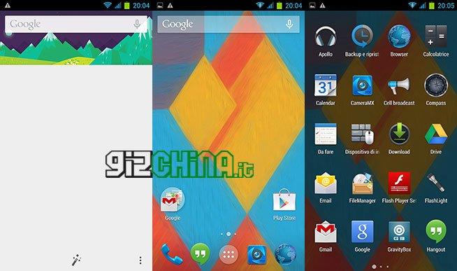 تحديث: GizChina Rom Nexus 5 نمط Android KitKat بواسطة Marsapa ل Zopo