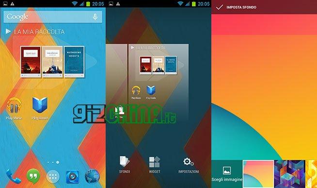 GizChina Rom Nexus 5 Style Android KitKat by Marsapa per Zopo Zp990