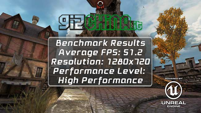Benchmark do Xiaomi Hongmi Epic Citadel