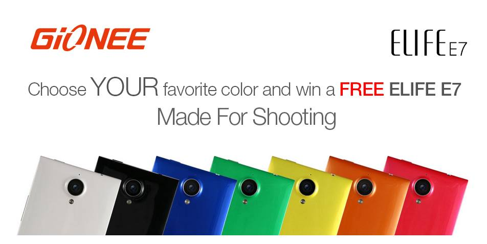 Elife E7 contest