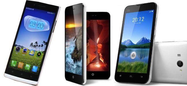 Razões 5 para comprar um telefone Android chinês!