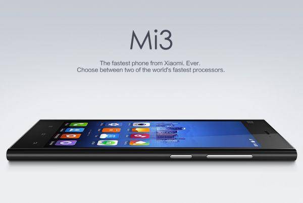 Xiaomi MI3 Snapragon 800