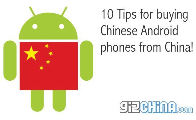 10 suggerimenti per acquisto telefoni cinesi android