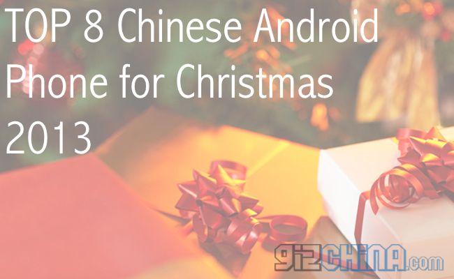 TOP 8 Chinesische Telefone für 2013 Weihnachten
