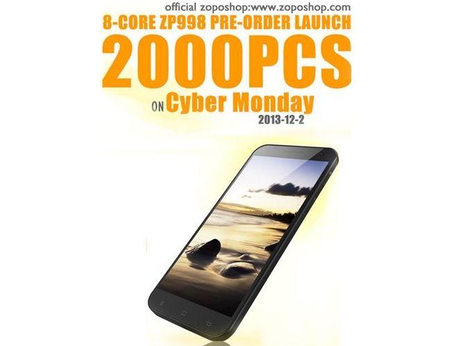 Zopo ZP998 الطلبات المسبقة