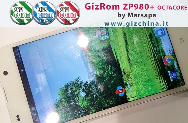 GizRom GizChina ROM da Marsapa para Zopo Zp980 +