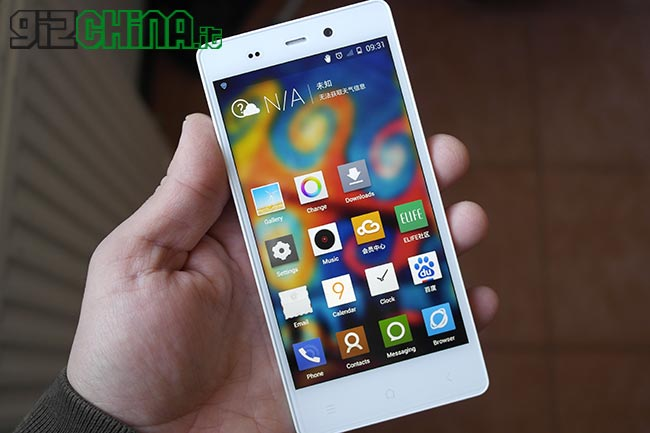 Gionee Elife E6 recensie door GizChina.it