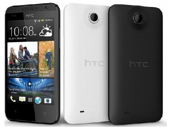 HTC Desire 310 frente e verso.