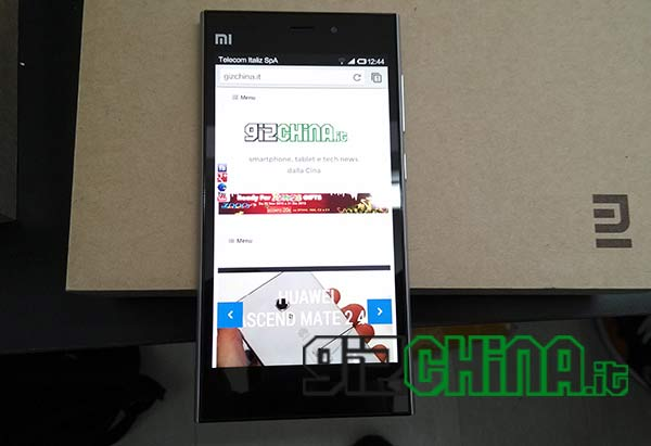 Xiaomi Mi3 in italia su GizChina.it