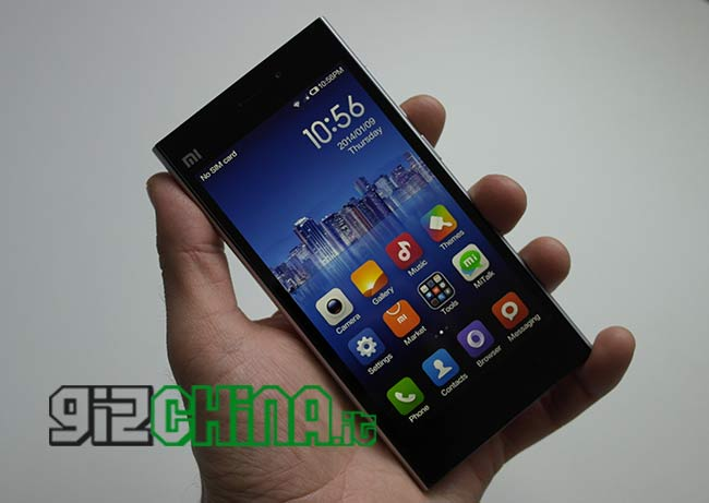 Exclusivo: Xiaomi Mi3 Snapdragon 800 Unboxing por GizChina.it!