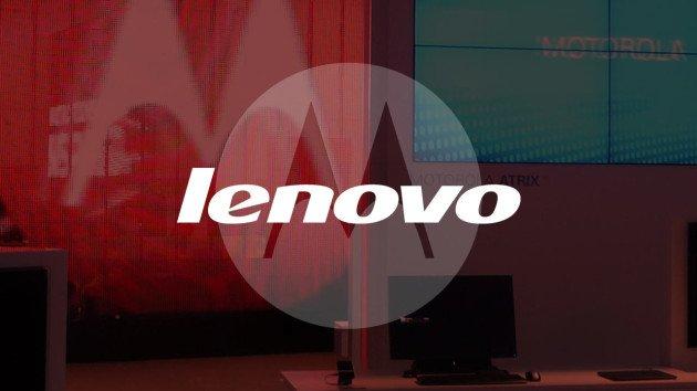 Motorola e Lenovo, loghi sovrapposti