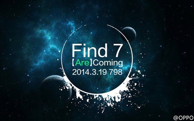 Oppo FIND 7 lancio