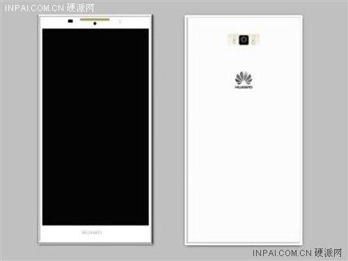 Primeiro render da Huawei P7 Sofia