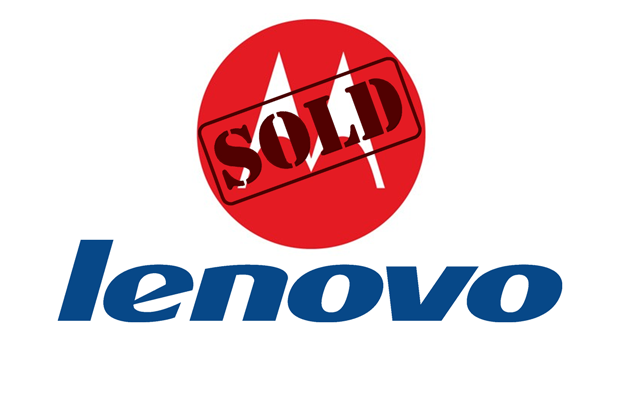 Motorola e Lenovo loghi