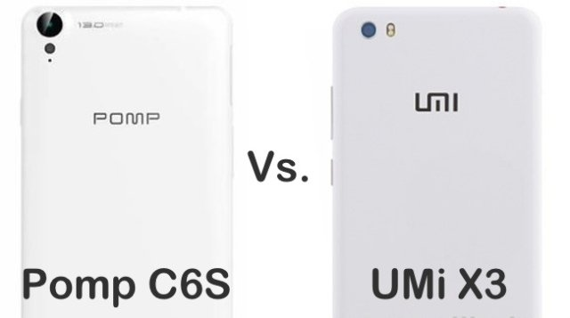 LA SFIDA - Pomp C6S vs UMI X3