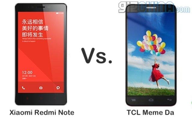 A SFIDA - Xiaomi Redmi Note vs TCL Meme Da