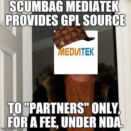 Mediatek - Obecny kryzys