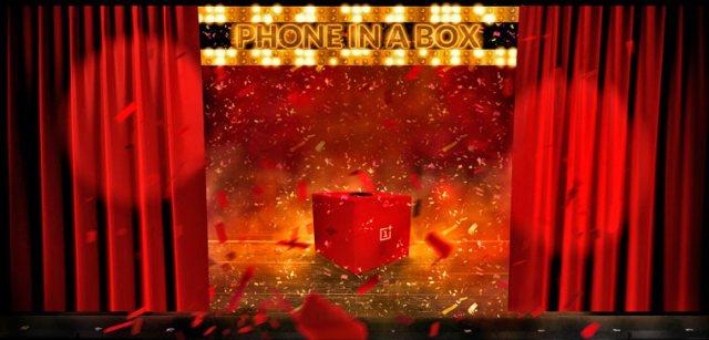 concurso honeInaBox - OnePlus One