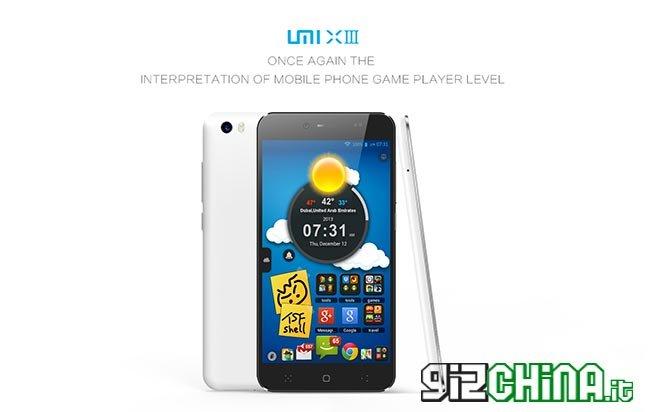 Lançamento de fotos UMi X3 2
