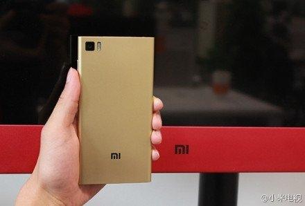 Xiaomi MI3 Gold -Xiaomi MiTV Red