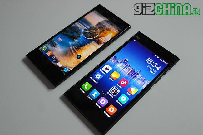 THL T100s vs Xiaomi Mi3