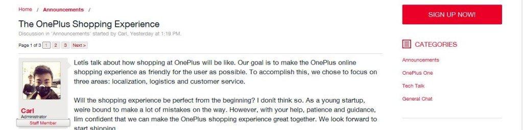 Fórum OnePlus