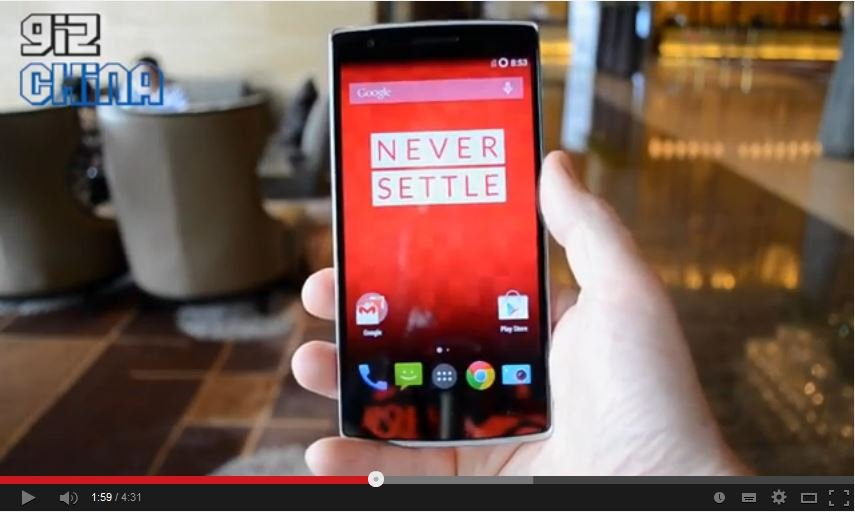 OnePlus One Video