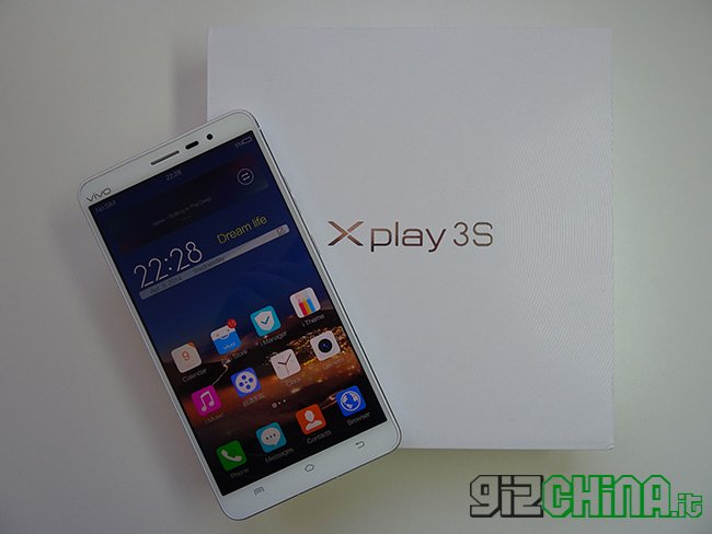 Vivo Xplay 3S unboxing di GizChina.it