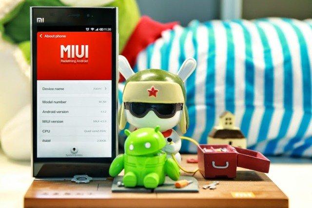 KitKat per Xiaomi Mi3