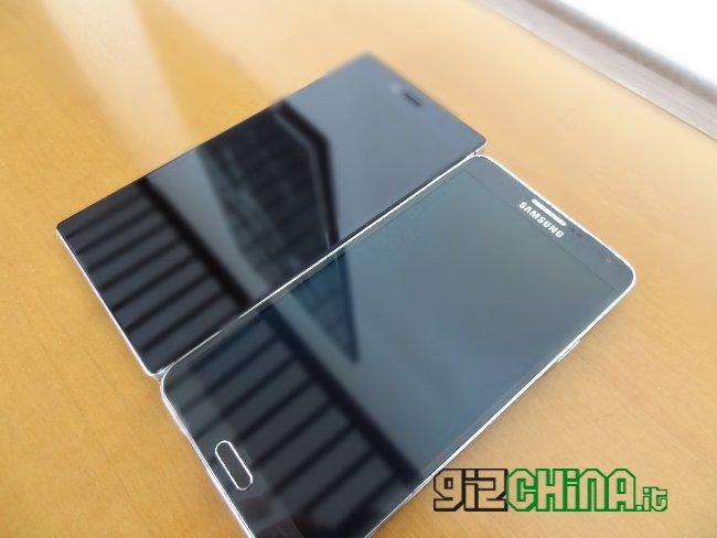 iOcean X8 y Galaxy Note 3